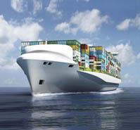 船舶  集装箱